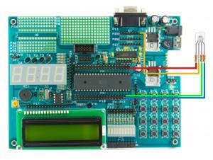 Podłączenie diody RGB do płytki EDU